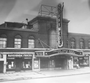 1942 - Runnymede Theatre on Bloor St W, just west of Runnymede Rd