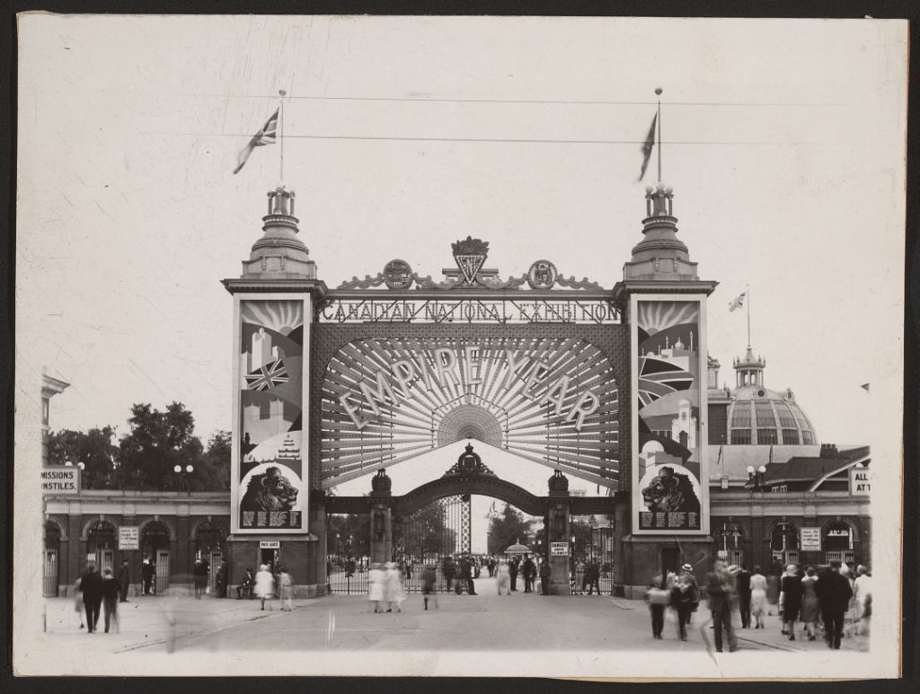 1929 - The Empire Year of the Canadian National Exhibition