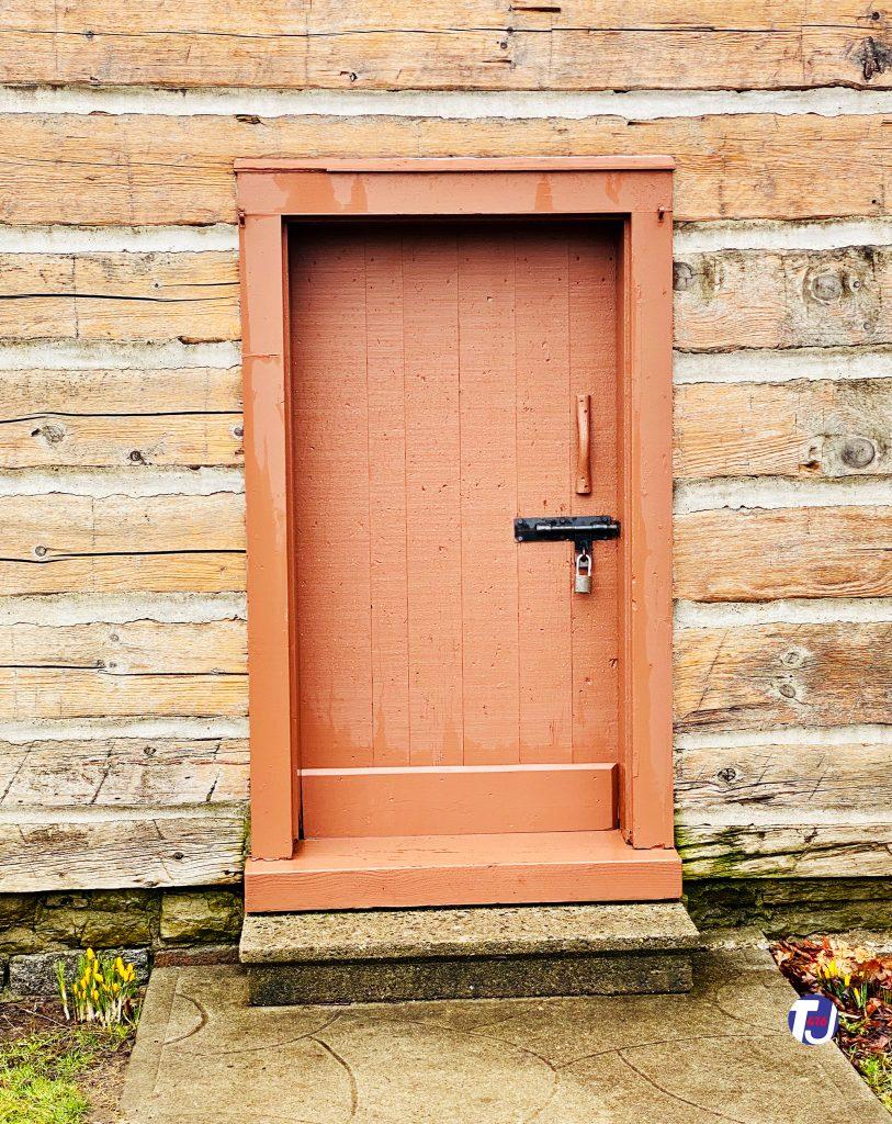 2020 - Door of the Scadding Cabin