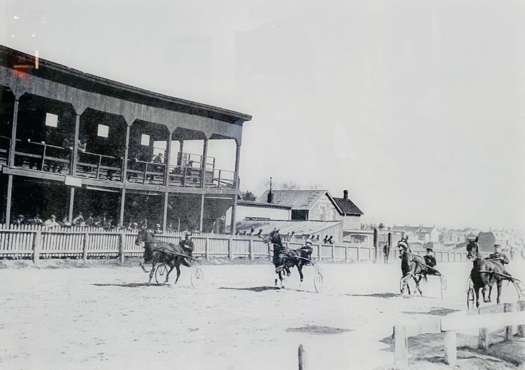 Early 1900's - Harness racing at Dufferin Park