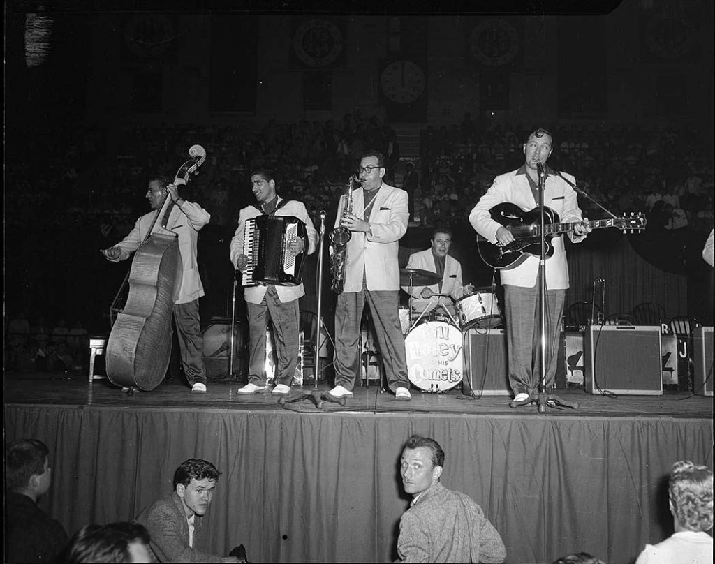 1956 - Bill Haley and the Comets at The Gardens