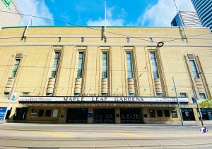 2021 - The south facade and main entrance to Maple Leaf Gardens