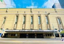 Maple Leaf Gardens is located at 50 Carlton St in Toronto (2021)