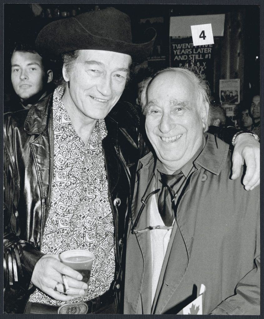1985/90 - Stompin' Tom Connors and Sam Sniderman