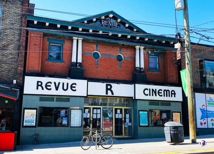 Revue Cinema at 400 Roncesvalles Ave in Toronto (2021)
