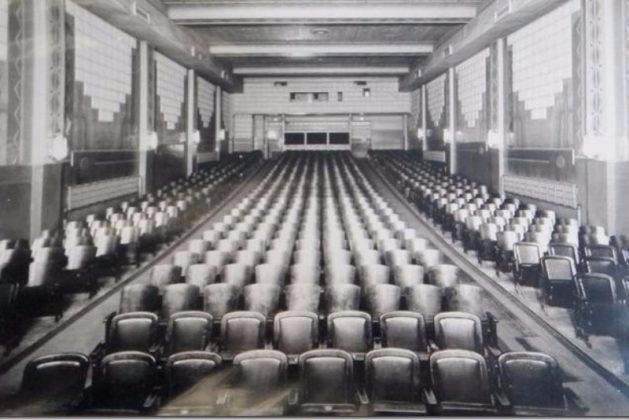 1941 - The auditorium in The Revue Theatre