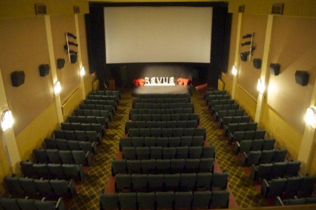 2013 - The auditorium in The Revue Theatre