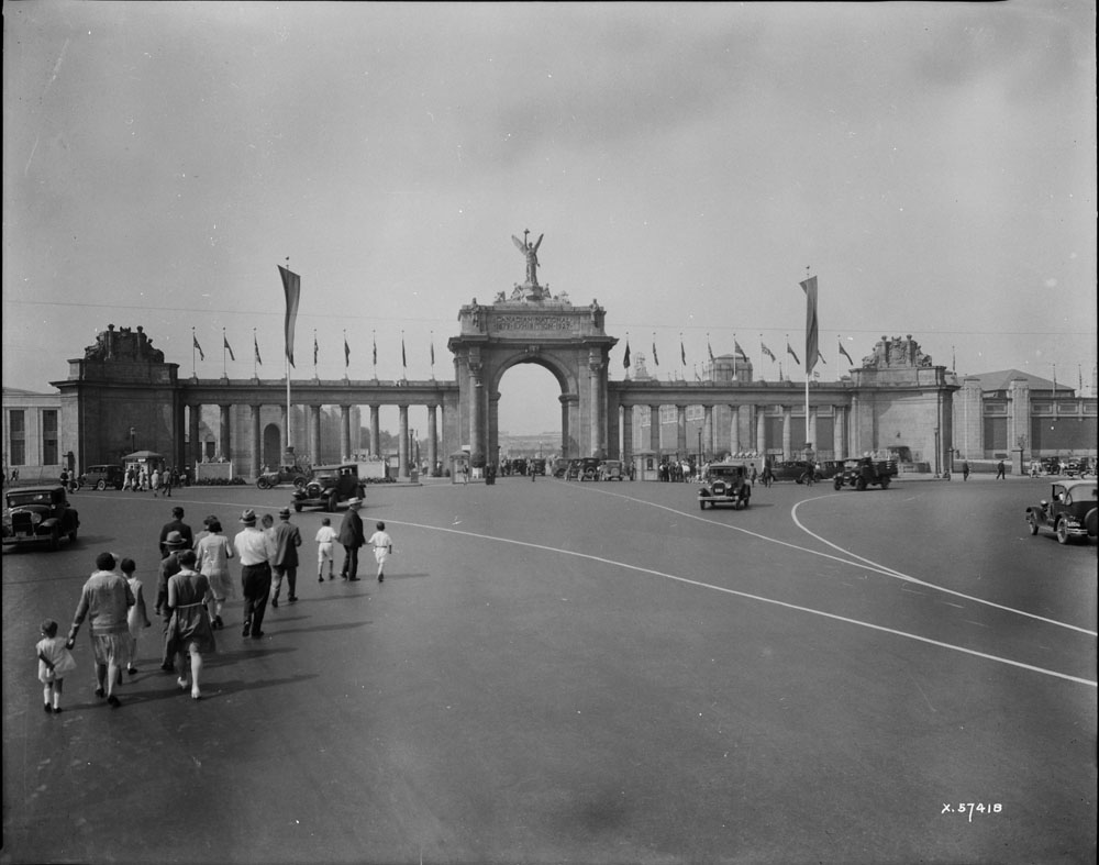 1929 - The Princes' Gates and the Canadian National Exhibition