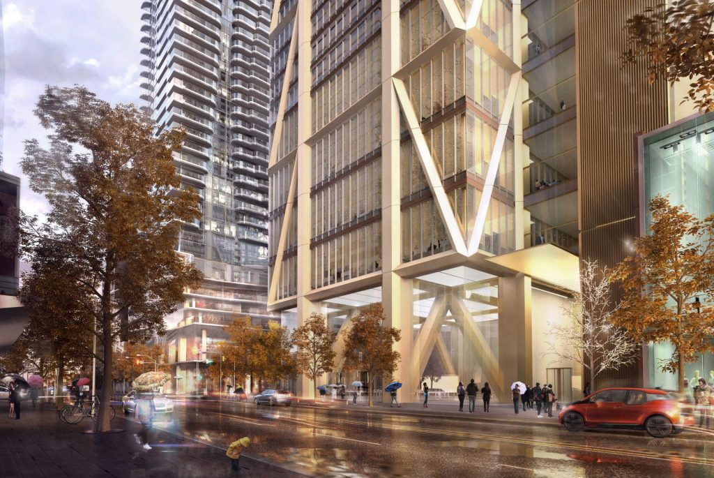 2018 - Artist rendering of future The One (One Bloor West)