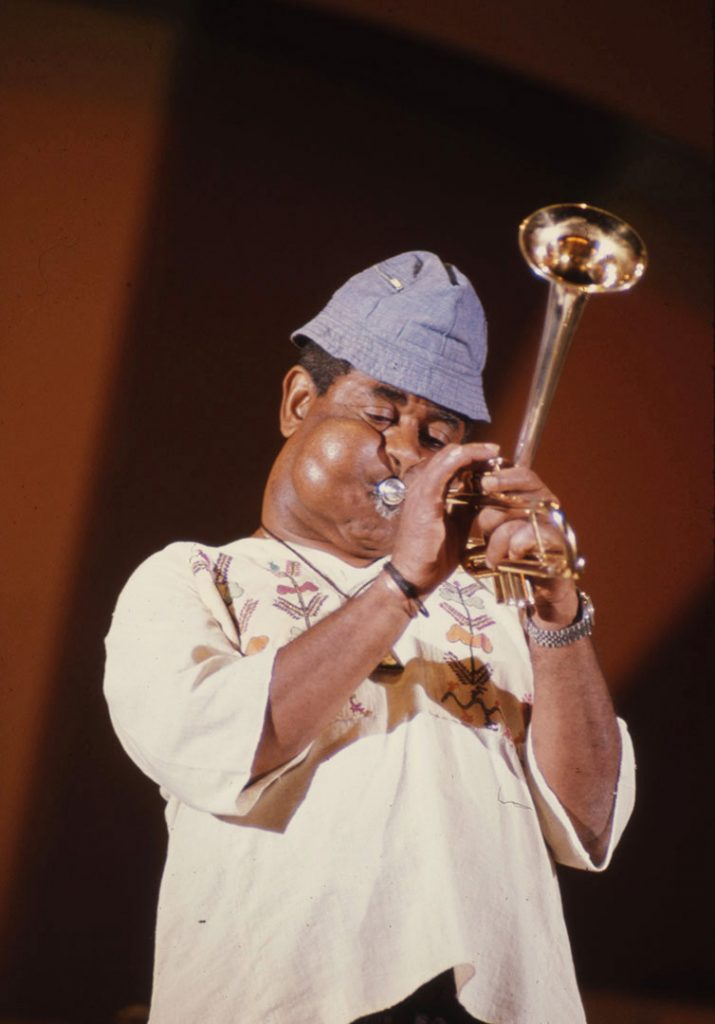 1975 - Jazz great, Dizzy Gillespie performing at The Ex