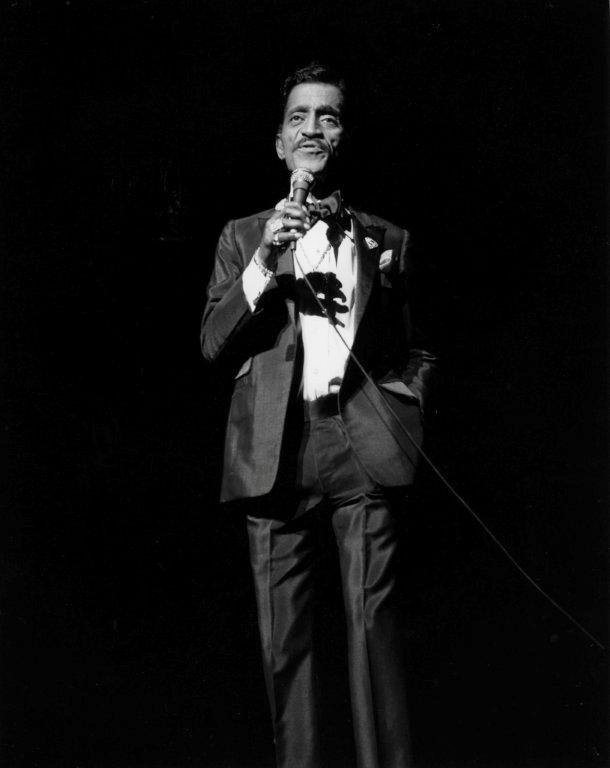 1980's - The talented Sammy Davis Jr on stage at The Ex