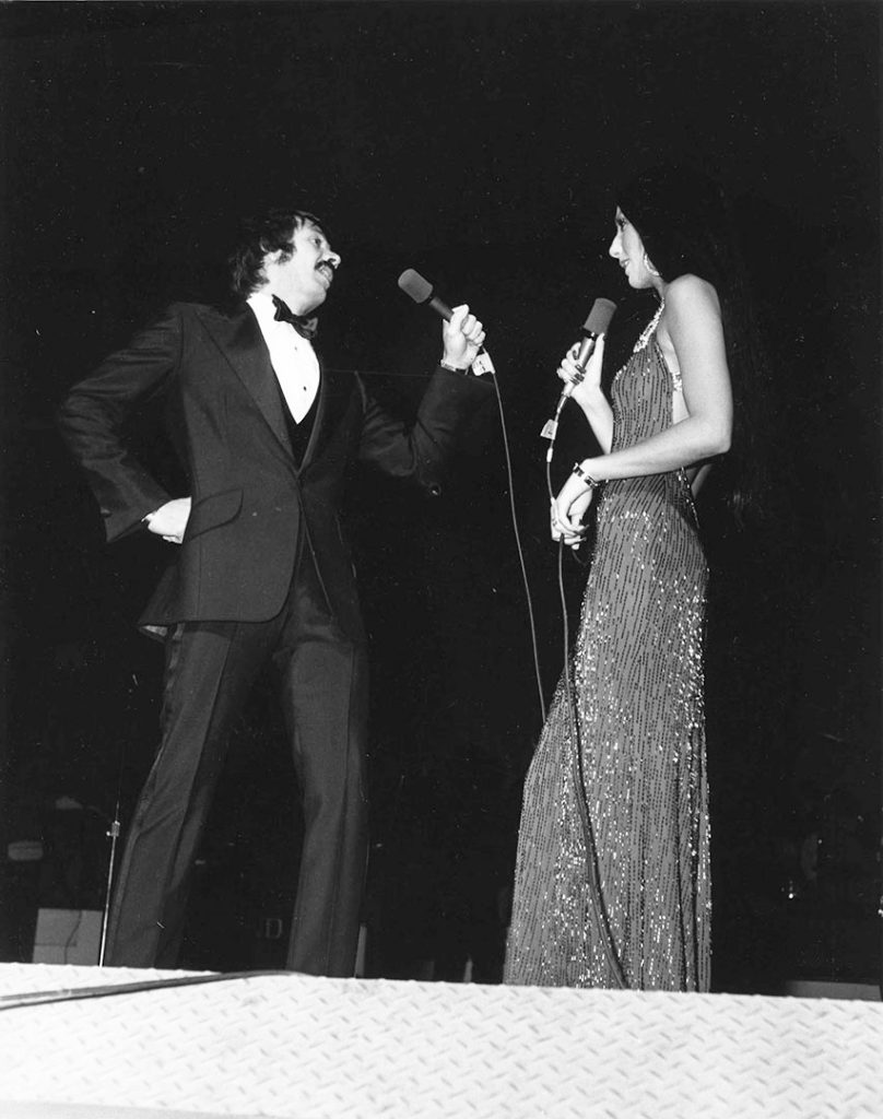 1972 - Sonny & Cher at the Canadian National Exhibition