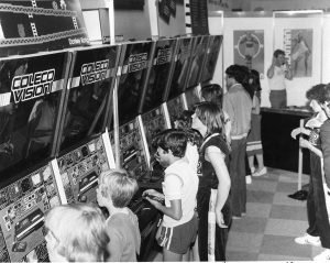 1980's - ColecoVision video game exhibit at The Ex