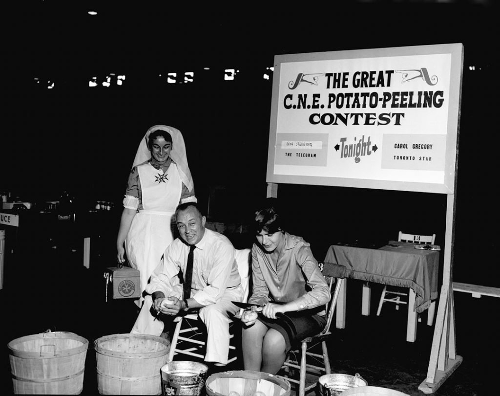 1962 - The Great CNE Potato-Peeling Contest