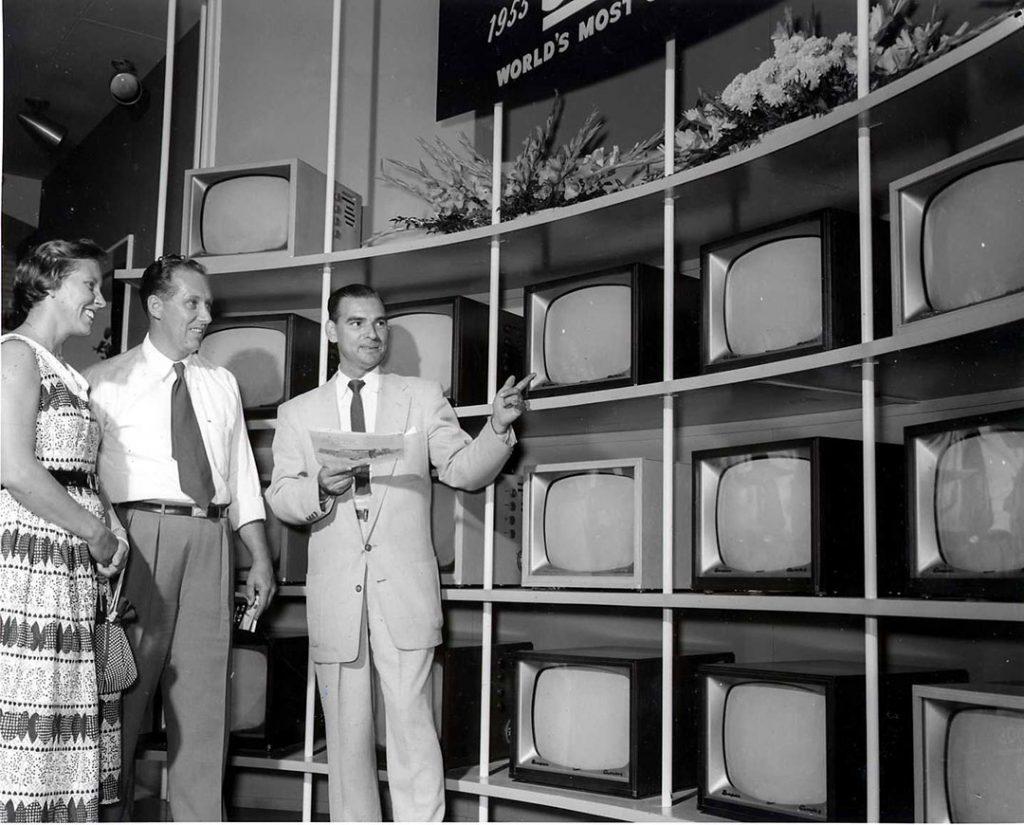 1953 - CNE TV exhibit
