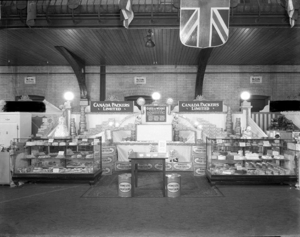 1930's - Canada Packers Limited display