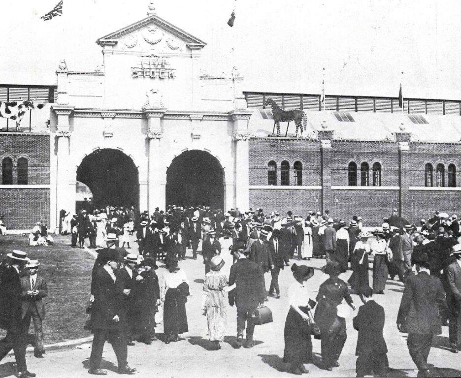 1914 - The Live Stock Building at the Exhibition