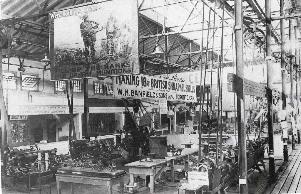 1916 - Exhibit by WH Banfield & Sons Limited in Machinery Hall