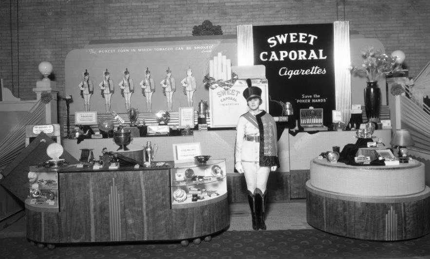 1930's - Sweet Caporal exhibit at the Canadian National Exhibition