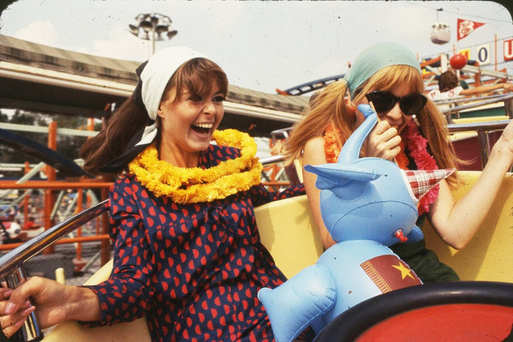 1967 - Fun on The Midway in classic, mid 60's attire