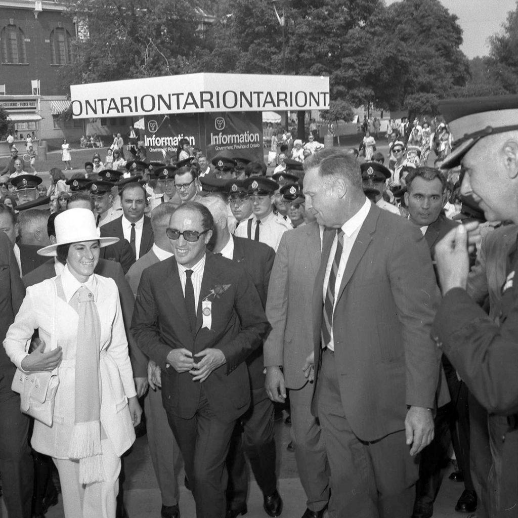 1969 - Prime Minister PE Trudeau in classic late 60's attire