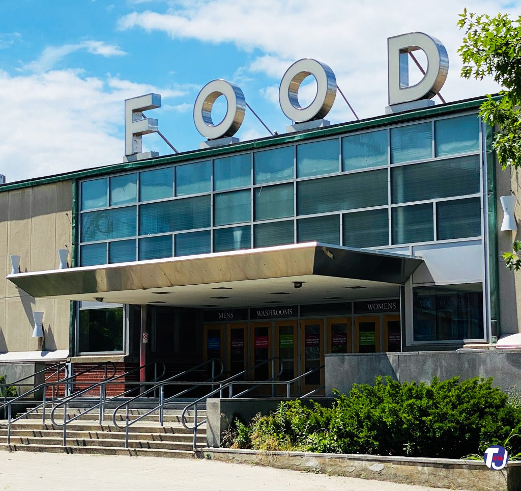 2020 - South entrance of the Food Building