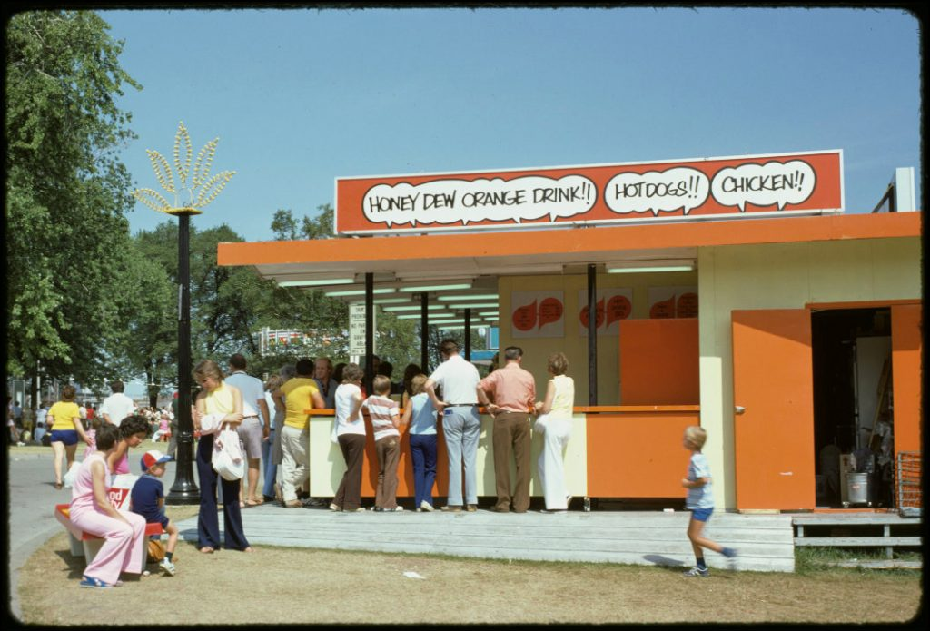 1974 - Honey Dew Stand at the CNE