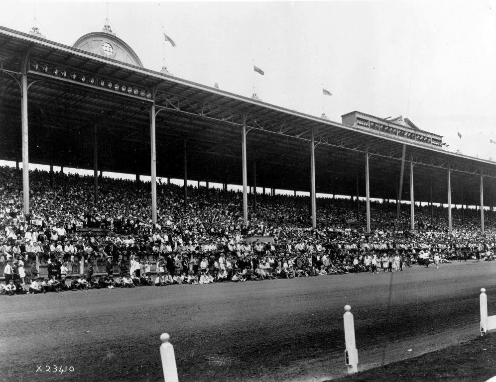 1907 - The third Exhibition Grandstand, designed by GW Gouinlock