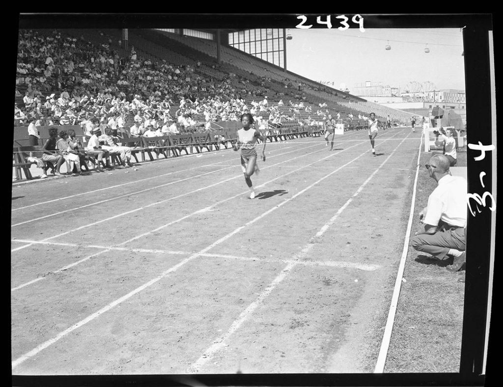 1960's - Track & Field event at Exhibition Stadium