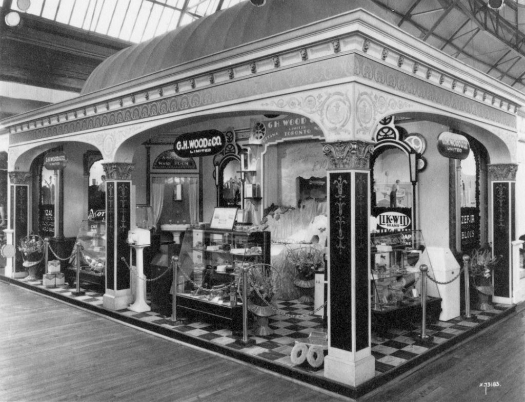 1931 - GH Wood & Co. Limited display