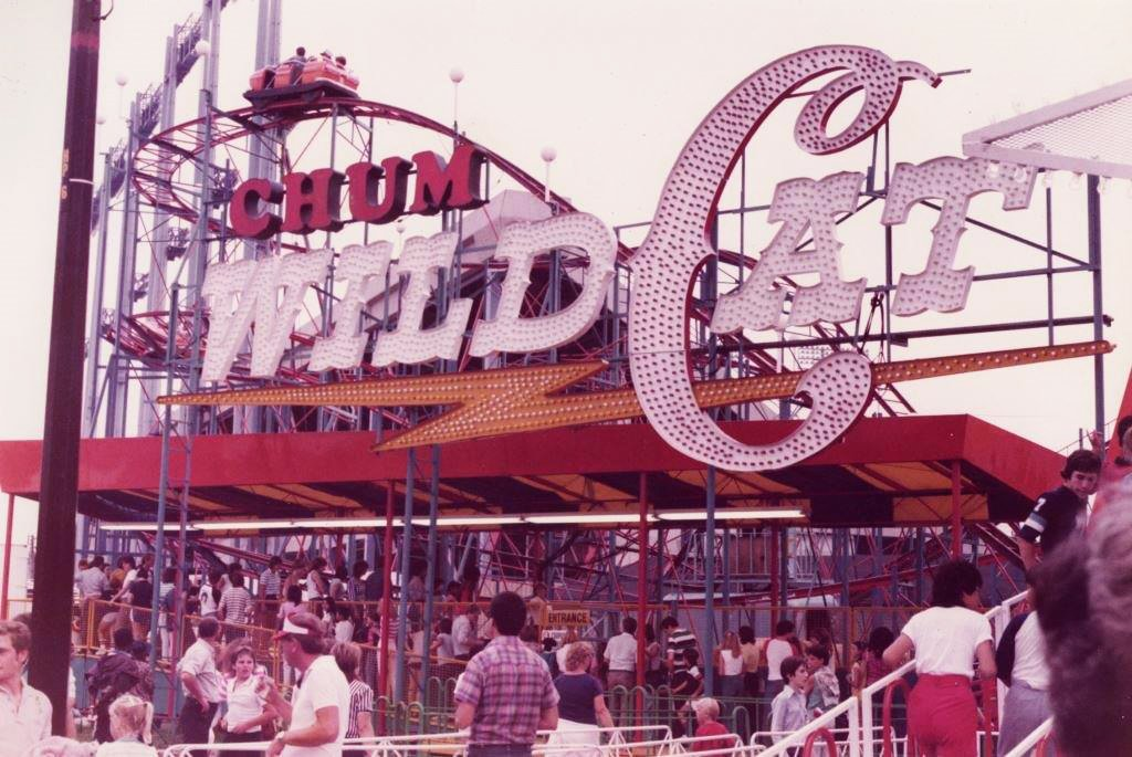 1970's - CHUM Wild Cat ride on The Midway