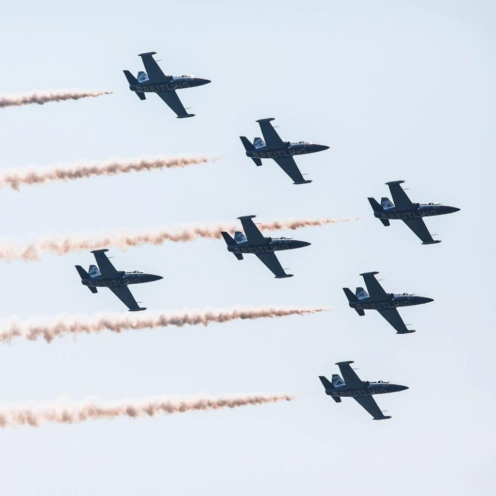 2010's - Breitling Jet Team at the Canadian International Air Show at the CNE