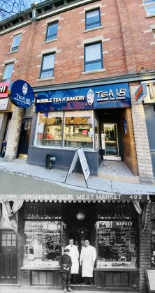 2020/1920 - Tea 18/Brunswick Meat Market at 495 Bloor St W