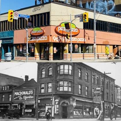 2020/1922 - Bloor St W & Bathurst St, northwest corner