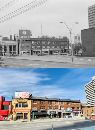 1976/2020 - North side of Bloor St W between Spadina Rd & Madison Ave