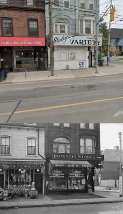 2019/1929 - Stanley's Variety/Dominion Stores at 237 Gerrard St E
