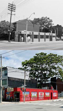 1972/2020 - George Street Diner at George St & Richmond St E, northeast corner