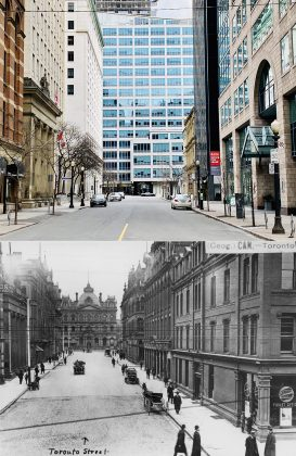 2020/1908 - Toronto St looking north from King St E to Adelaide St E