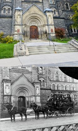 2020/1908 - Main entrance of University College at U of T