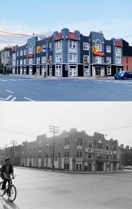 2020/1972 - Econo Lodge/Keystone Tavern at Jarvis St & Gerrard St E, southeast corner