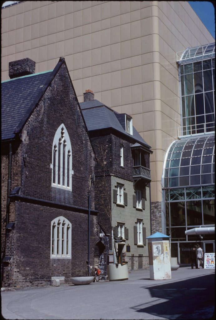 1978 - Church of the Holy Trinity, Scadding House and the Eaton Centre