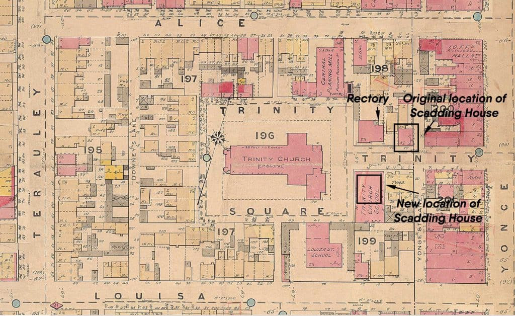 1880 - Goad's Insurance Plan of the City of Toronto
