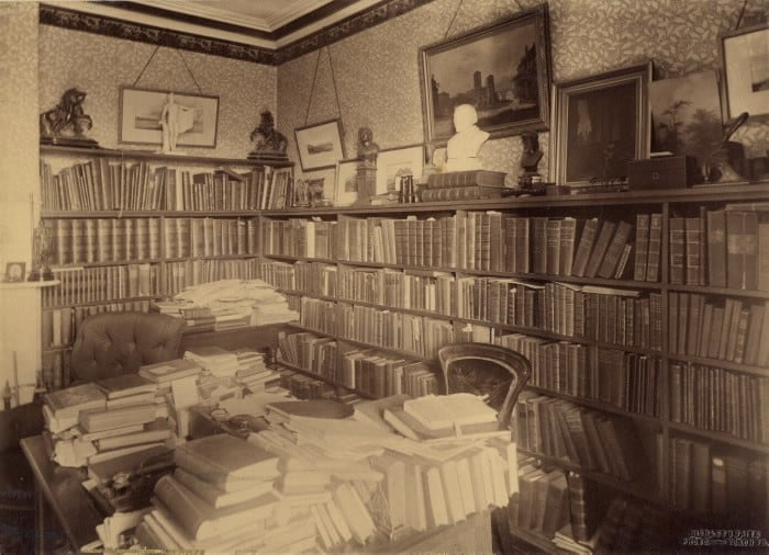 1900 - Scadding House, east side of Dr Henry Scadding's library