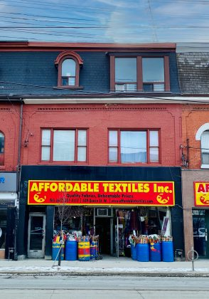 2020 - Affordable Textiles Inc at 531 Queen St W