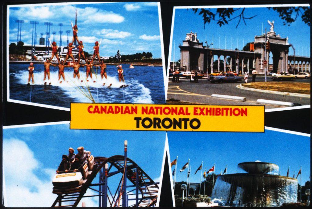 1978/87 - CNE postcard