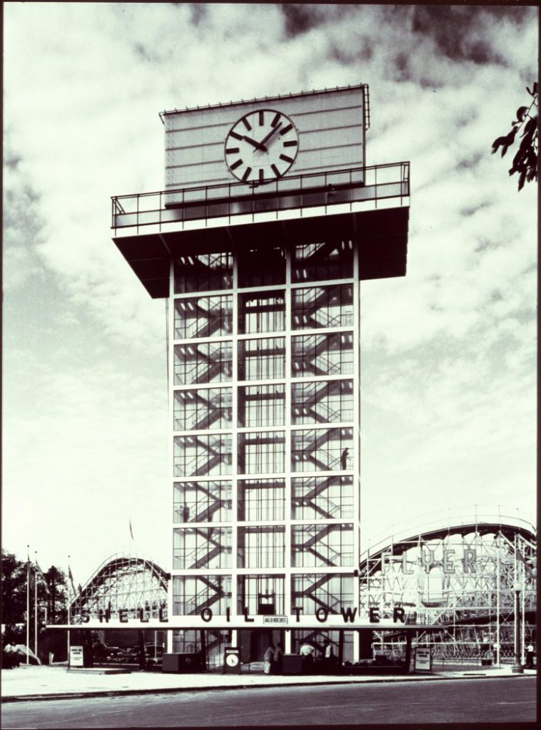 1960's - Shell Oil Tower at Exhibition grounds