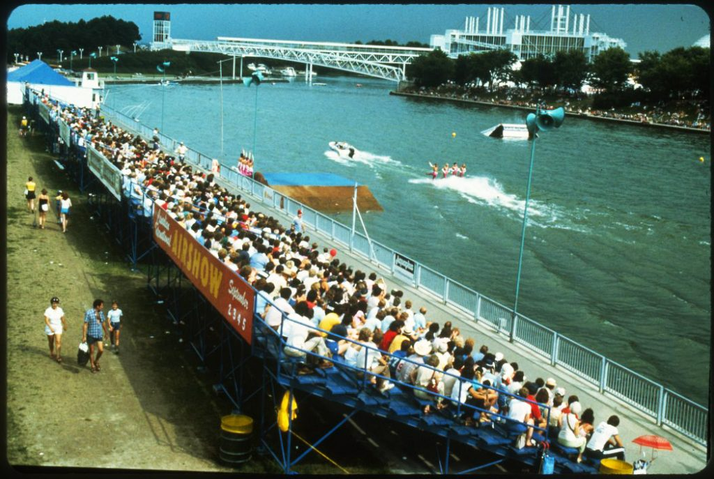 1978/87 - Water-skiing show at the CNE