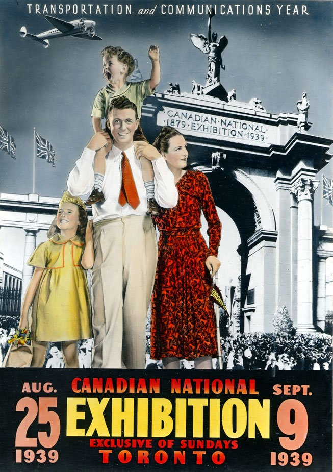 1939 - Canadian National Exhibition poster