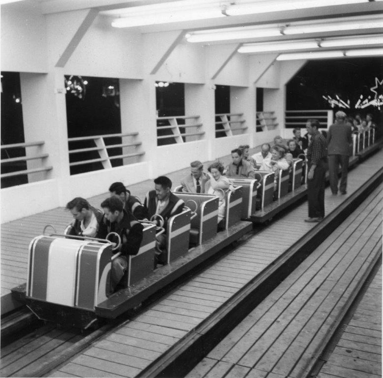 1953 - The Flyer roller coaster