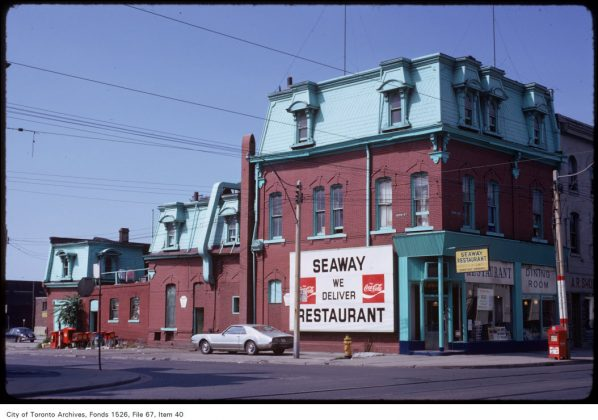 1973 – Seaway Restaurant was once at 287 King St W - now Second Cup Coffee Co.